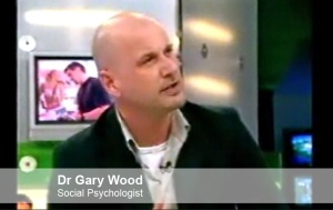 Pic: Dr Gary Wood on Big Brother's Little Brother