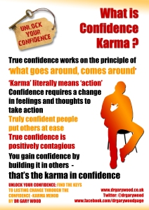 Poster: What is Confidence Karma?