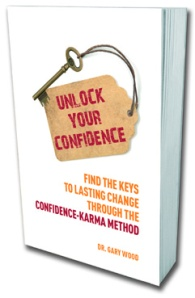 Book Cover: Unlock Your Confidence by Dr Gary Wood