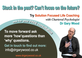 Ad for coaching with Dr Gary Wood