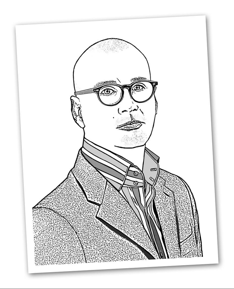 Pic: Dr Gary Wood (Line drawing)
