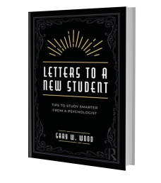Pic: Book Cover for Letters to a New Student by Dr Gary Wood
